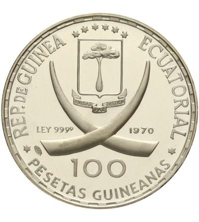 Equatorial Guinea 100 pesetas 1970
