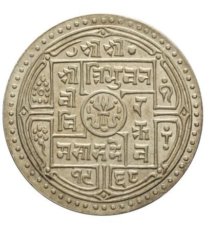 Nepal 2 mohars 1911