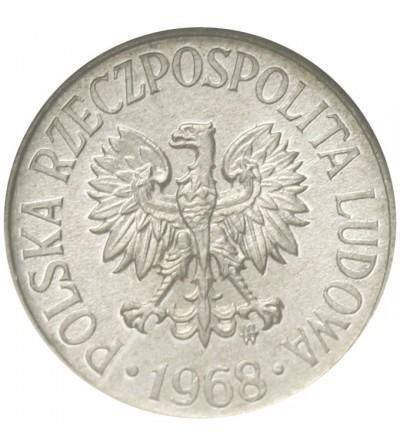 PRL 5 groszy 1968, GCN MS64