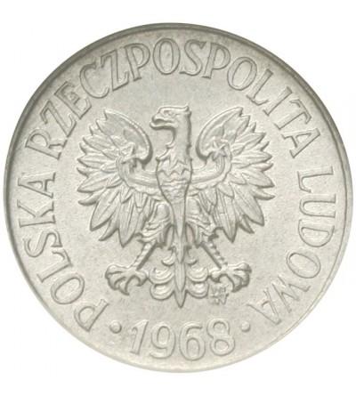 PRL 5 groszy 1968, GCN MS60