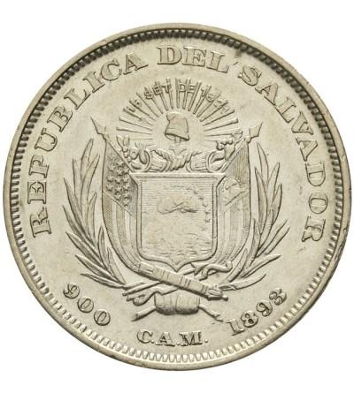 El Salvador Peso 1893