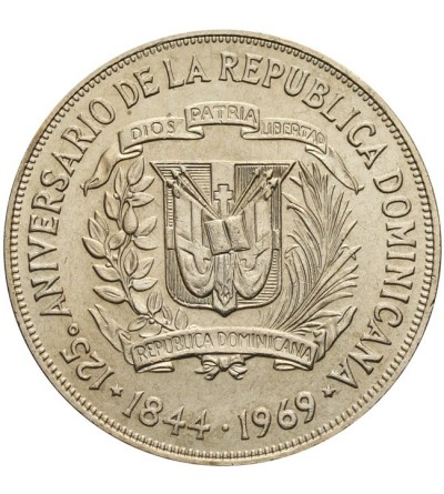 Dominikana 1 peso 1969