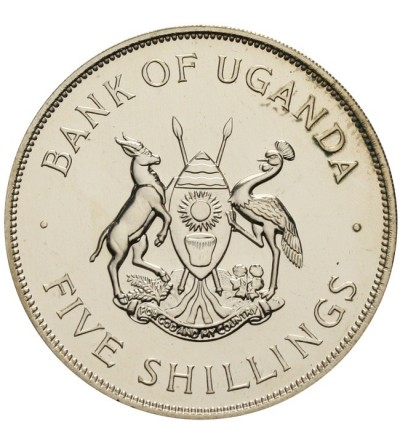 Uganda 5 szylingów 1968 Proof