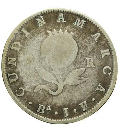 Kolumbia 8 reali 1821 Ba JF