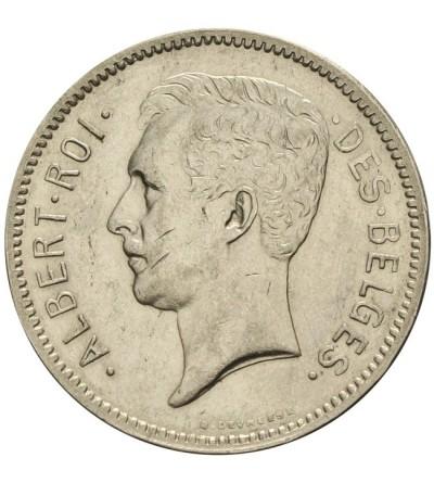 Belgium 5 frank 1932