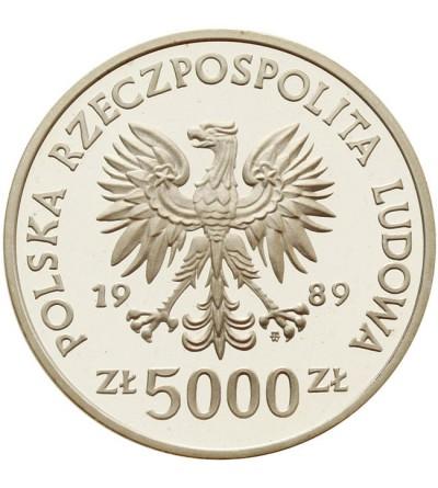 5.000 złotych 1989 Władysław II Jagiełło - popiersie