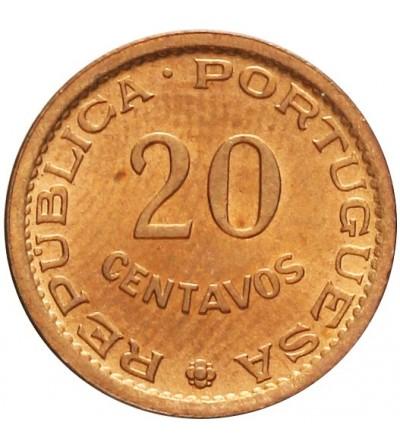 Wyspa Św. Tomasza 20 centavos 1971