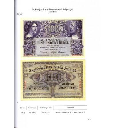 Katalog zbioru monet i banknotów litewskich XI - XXI wiek