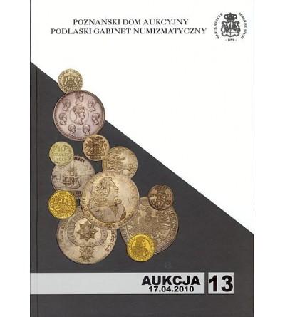 Katalog aukcyjny PDA&PGN Aukcja nr 13 - 17.04.2010 r.