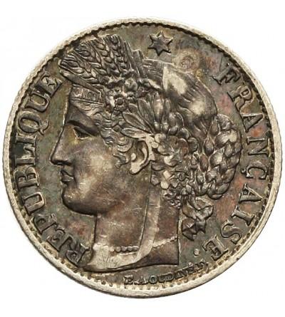 Francja 50 centimes 1873 A