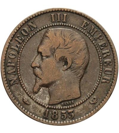 Francja 10 centimes 1853 - ESSAI