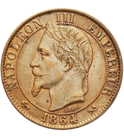 Francja 5 Centimes 1864 K