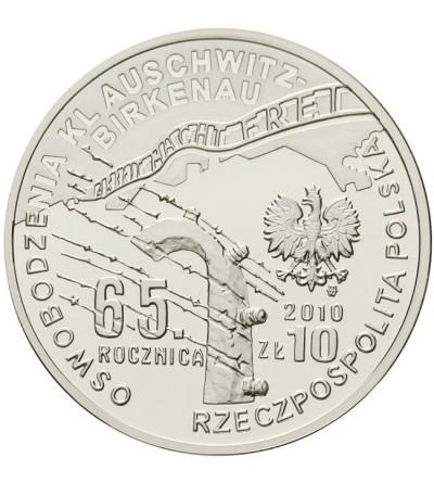 10 złotych 2010 - Auschwitz