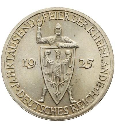 Weimar 3 marki 1925 A Rheinlande
