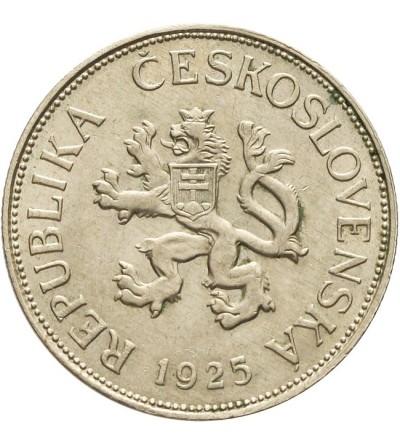 Czechosłowacja 5 koron 1925