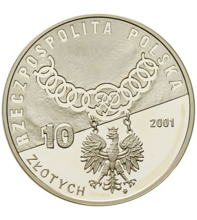 10 złotych 2001 - Trybunał Konstytucyjny