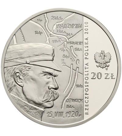 20 złotych 2010, 90 rocz. Bitwy Warszawskiej