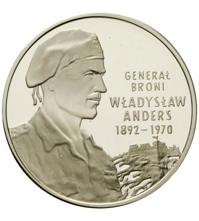 10 złotych 2002 - Władysław Anders