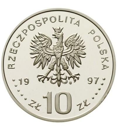 10 złotych 1997 - 1000 lecie śmierci św. Wojciecha