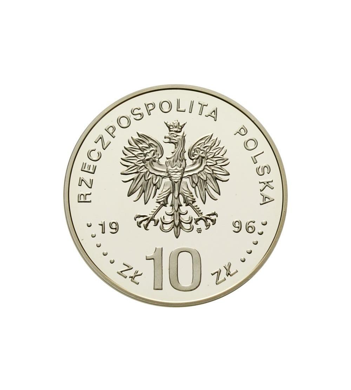 10 złotych 1996 - Stanisław Mikołajczyk