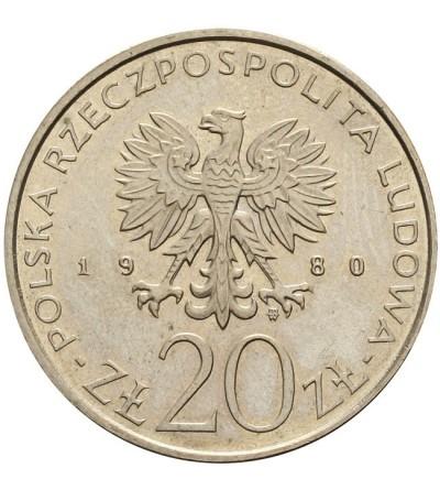 20 złotych 1980, Łódź - próba
