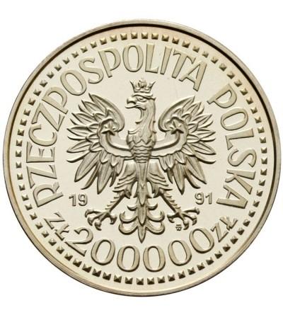 200.000 złotych 1991, Jan Paweł II - próba