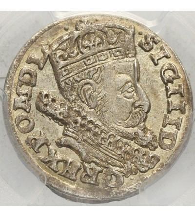 Trojak 1606, Kraków - PCGS MS 64