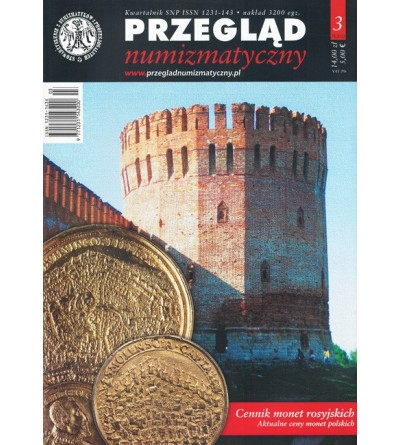 Przegląd Numizmatyczny nr. 78 - 3/2012