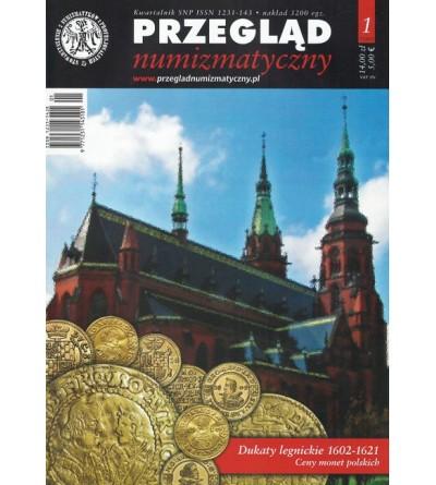 Przegląd Numizmatyczny nr. 72 - 1/2011