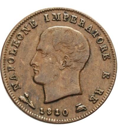 Włochy 3 centesimi 1810 B, Napoleon