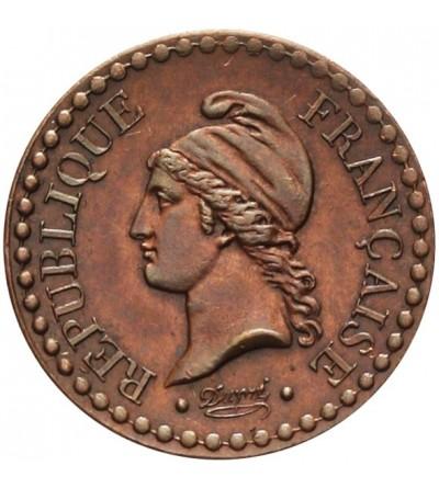 France Centime 1849 A, Parias