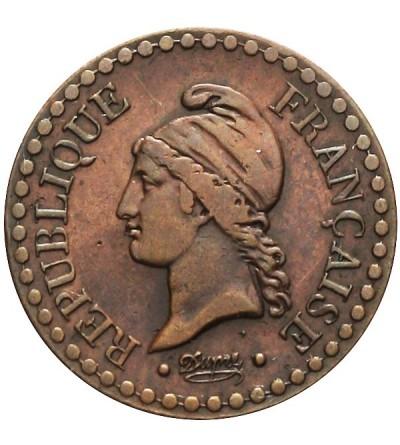 Francja 1 centime 1851 A