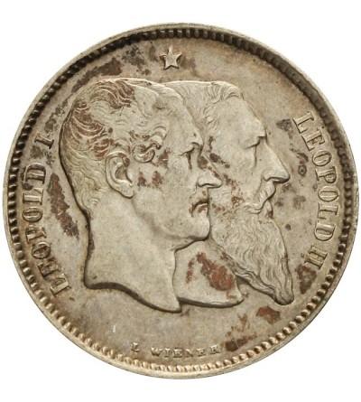 Belgia 1 frank 1880