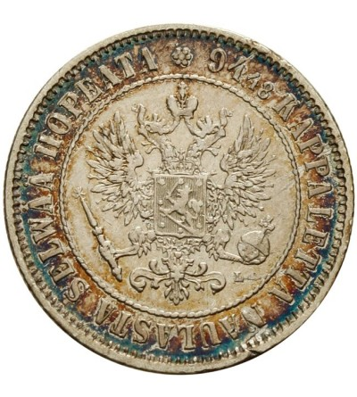 Finlandia 1 marka 1890