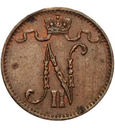 Finlandia 1 penni 1916 Mikołaj II