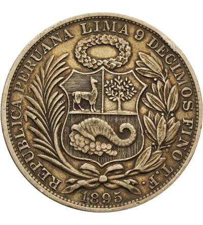 Peru 1 sol 1895 T.F.