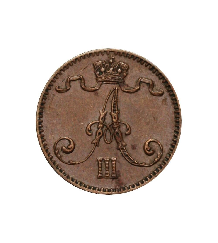 Finlandia 1 penni 1893 Aleksander III