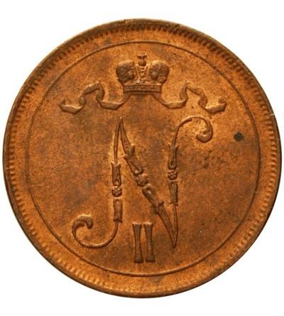 Finlandia 10 pennia 1916 Mikołaj II