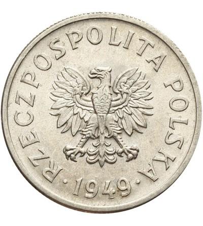 50 groszy 1949 - aluminium