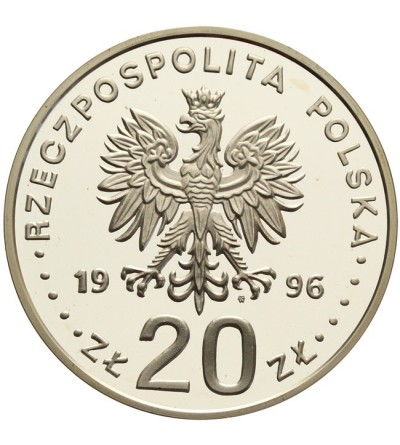 20 złotych 1996, IV wieki Stołeczności Warszawy