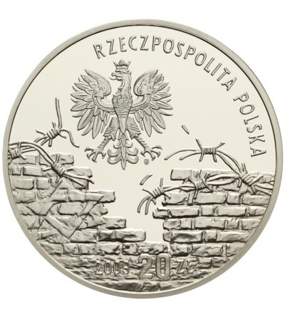20 zlotych 2009, Honoring Poles who saved the Jews