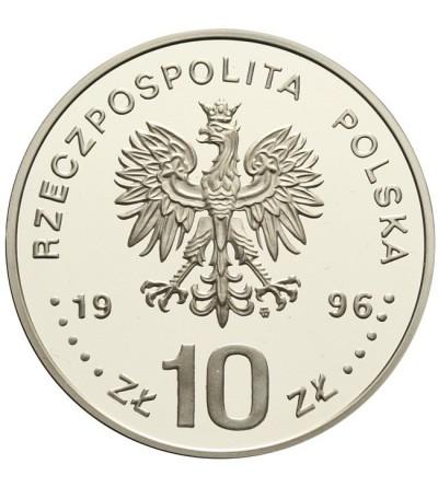 10 złotych 1996, Zygmunt II August - półpostać