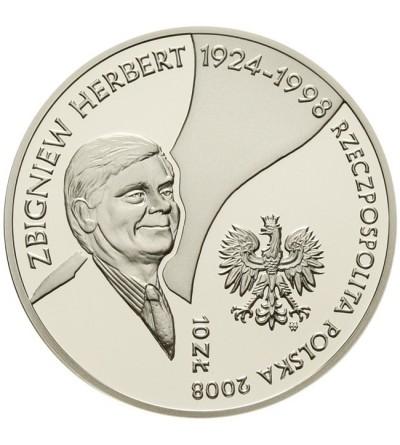 10 złotych 2008, Zbigniew Herbert