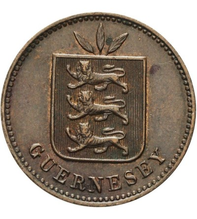 Guernsey 4 doubles 1893 H