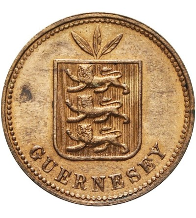Guernsey 2 doubles 1889 H