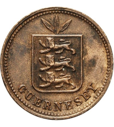 Guernsey 2 doubles 1899 H