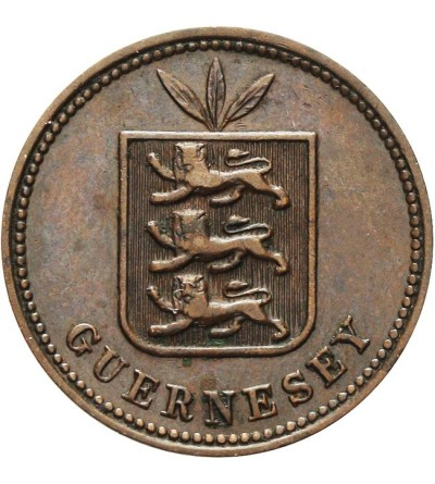 Guernsey 2 doubles 1911 H