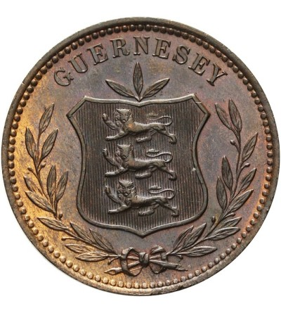 Guernsey 8 doubles 1889 H