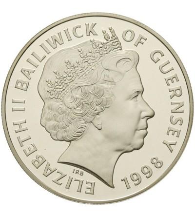 Guernsey 5 funtów 1998