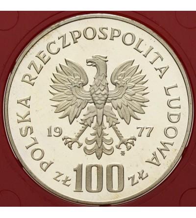 100 złotych 1977, ryba - próba